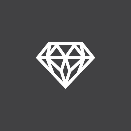 Illustration Of Diamonds With Copy Space Royalty Free Cliparts