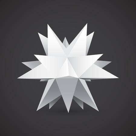 polyhedron: Poliedro, forma de la estrella