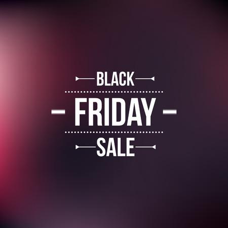 schwarz: Schwarze Freitag-Zeichen, typografische Gestaltung