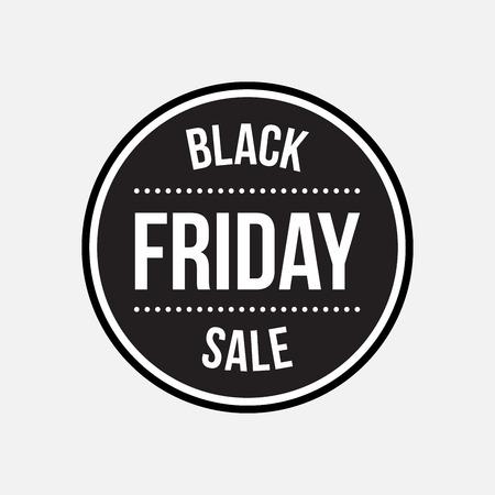black friday: Black friday sale label