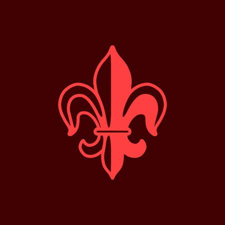 royal logo: Lily symbol