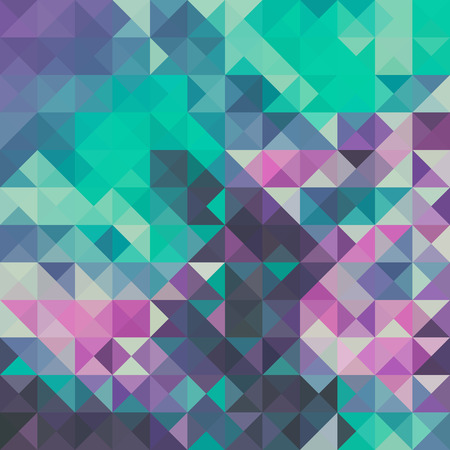 background green: Triangle background, green and violet Illustration