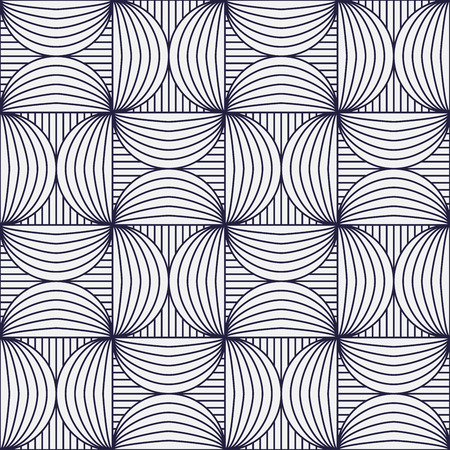 seamless background: Geometric background, squares and circles, seamless pattern