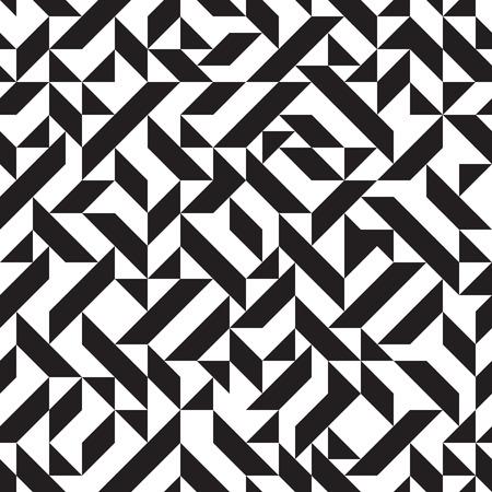 geometrical: Geometric seamless pattern, triangles, vector