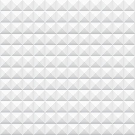 white wall: White tiles, squares, vector illustration, seamless pattern