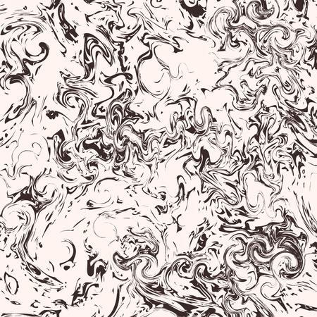 Marmer patroon, Ebru textuur, vector illustratie Stock Illustratie