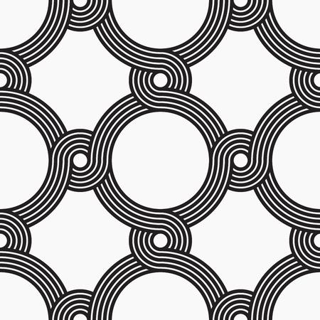 seamless patterns: Vector arabic style seamless patterns, line design
