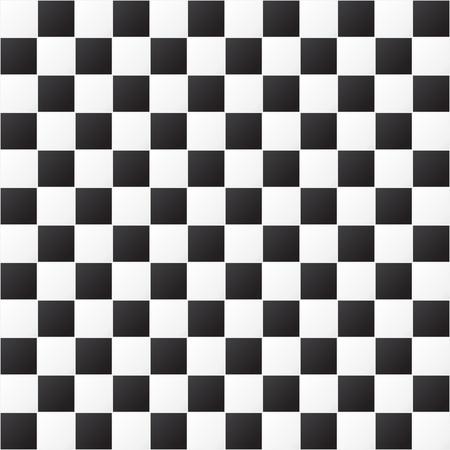 checkered pattern: Checkered pattern. Seamless pattern. Black and white background.