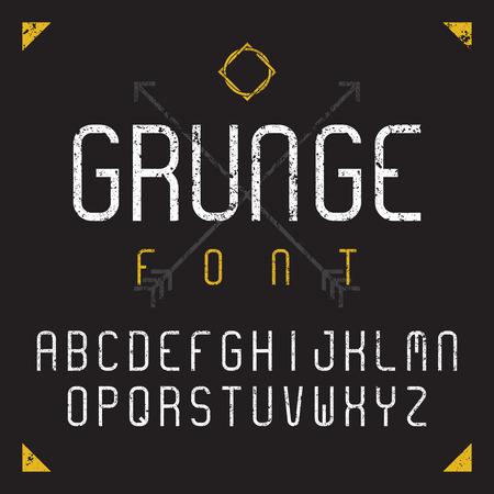 grunge: Grunge font