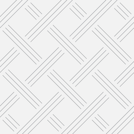 Geometric background, squares. Line design. Seamless pattern. Vector illustration EPS 10 Vettoriali