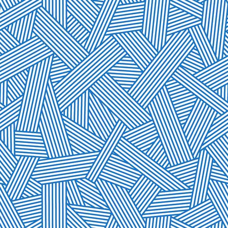 Vettoriale Sfondo Geometrico Blu Linea Design Modello Senza