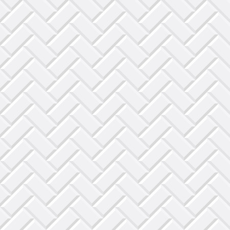 White tiles, ceramic brick. Diagonal seamless pattern. Vector illustration EPS 10 Zdjęcie Seryjne - 66438434