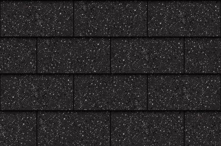 Tegole di asfalto, reticolo senza giunte, rettangoli, illustrazione vettoriale Vettoriali