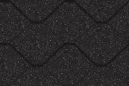 Bardeaux de toit d'asphalte, modèle sans couture, polygones, illustration vectorielle