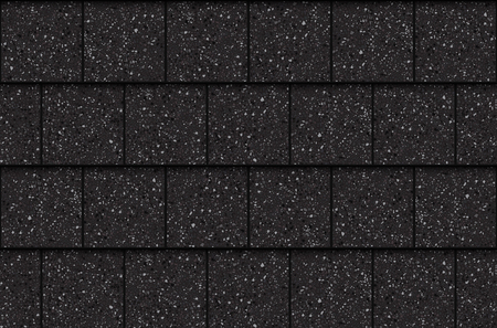 Asphalt roof shingles, seamless pattern. Squares, vector illustration Illustration