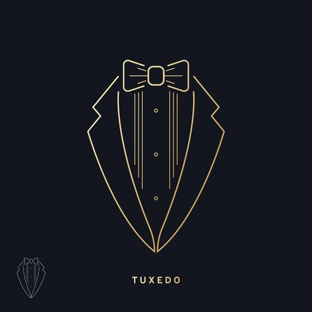 Tuxedo icon. Vector Illustration