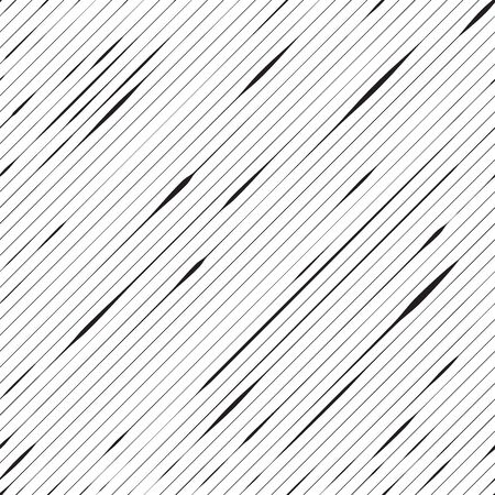 Diagonal lines background. Seamless pattern. Black and white. Vector illustration