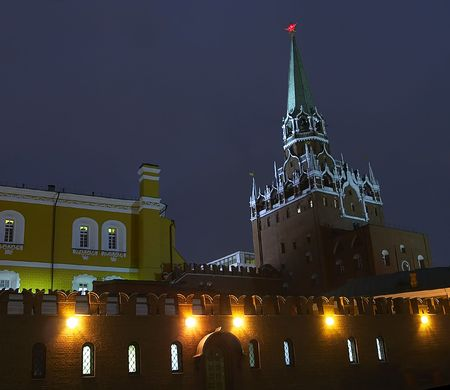 kreml: night city (Moscow)
