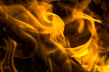 blazes: fire background  close up