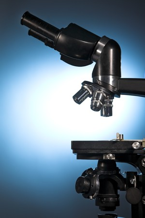 close up photo of a microscope Stock Photo - 7963603