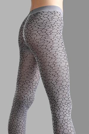 sexuality: Piernas de hermosa mujer aisladas sobre fondo gris Foto de archivo