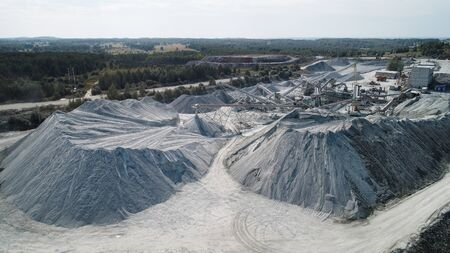 Quarry For The Extraction Of Natural Minerals. Industry Mining
