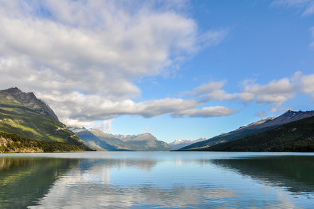 tierra del fuego: Tierra del Fuego National Park, Argentina Stock Photo