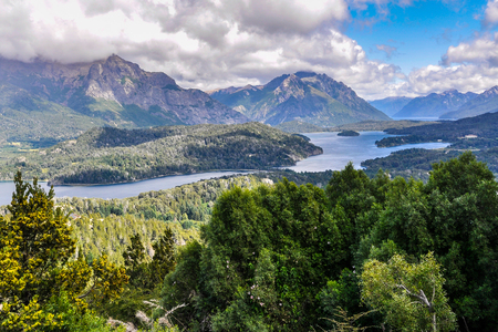 lake argentina: View of the lake area close to Bariloche, Patagonia, Argentina