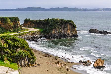 IGLESIA: Playa cerca de Ancud, Isla de Chilo�, Chile