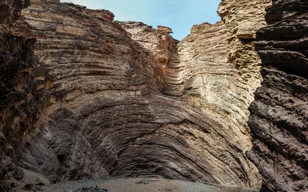 Garganta del Diablo in the Quebrada de las Conchas near Cafayate, Salta Province, Argentina