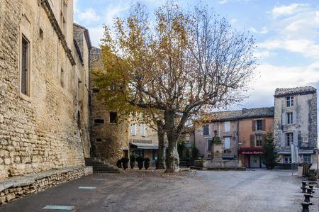 gordes: Tranqullity in the medival village of Gordes, the Luberon Region of Provence, France
