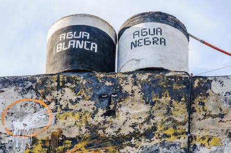 havana cuba: Callejon de Hamel, an alley full of art works made from trash in Havana, the capital of Cuba