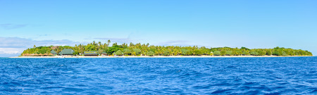 bounty: Panoramic view of Bounty Island, a real paradise in Fiji