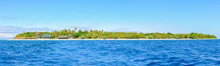 bounty: Vista panorámica de la isla de Bounty, un verdadero paraíso en Fiji