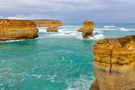 ard: Rock formation at Loch Ard Gorge on the Great Ocean Road in Australia