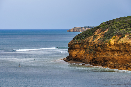 Bells Beach a surfers paradise on the Great Ocean Road in Australia