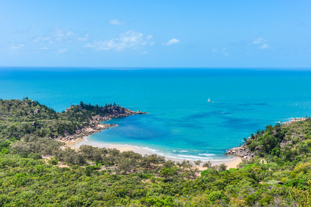 Close view of Florence Bay in Magnetic Island, Queensland, Australia