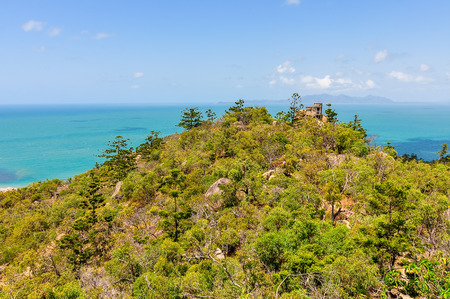 Florest and ocean in Magnetic Island, Queensland, Australia Stock Photo