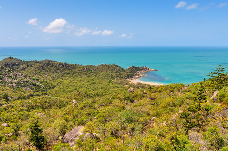 Tiny beach in Magnetic Island, Queensland, Australia Stock Photo