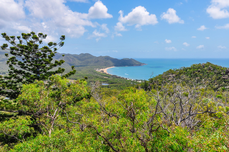Horseshoe Bay in Magnetic Island, Queensland, Australia Stock Photo
