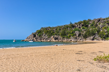 On Horseshoe Bay in Magnetic Island, Queensland, Australia Stock Photo