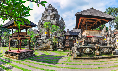 Royal Palace in the town of Ubud, Bali