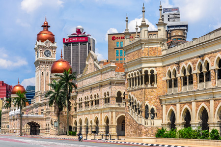 Sultan Abdul Samad Building in the cosmopolitan city of Kuala Lumpur, Malaysia