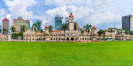 Sultan Abdul Samad Building in the cosmopolitan city of Kuala Lumpur, Malaysia Stock fotó - 78037365
