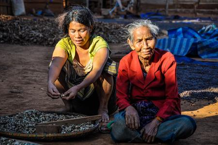 Laotian women in the Bolaven Plateau, Southern Laos