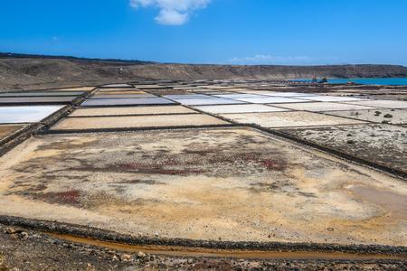 Janubio Salt Mines in Lanzarote, Canary Islands, Spain
