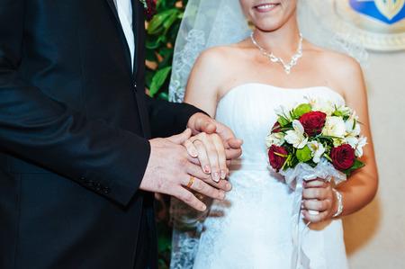 anagrafica: cerimonia di nozze in un ufficio del registro, il matrimonio