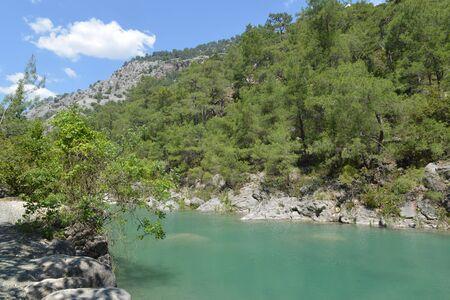view of the canyon Goynuk in Taurus Mountains. Turkey.