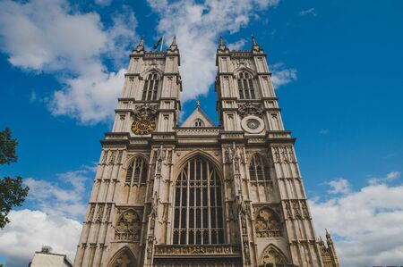 The Church of St Margaret, Westminster Abbey, in the grounds of Westminster Abbey on Parliament Square. London, UK