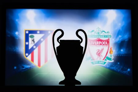 UEFA Champions League 2020, Round of 16 UCL football, Knockout stage, playoff, Official Adidas soccer ball 2020